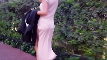 candid dress vpl hot shopping