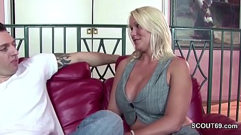 extrem hot step-mom seduce step-son to.