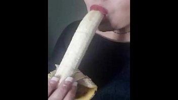 my trademark banana deepthroat with a.