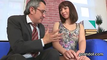 fervent schoolgirl is seduced and pounded by her.