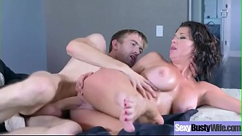 (veronica avluv) sexy cute busty housewife in sex.