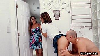 my mom'_s boyfriend has a huge dick! #.