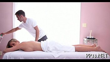 delighting honey with oil massage