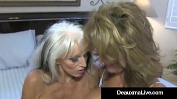 texas cougar deauxma watches as sally d&rsquo_angelo bangs hubby!