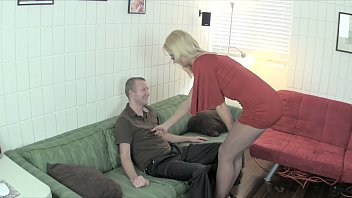 brother sister ballbusting handjob
