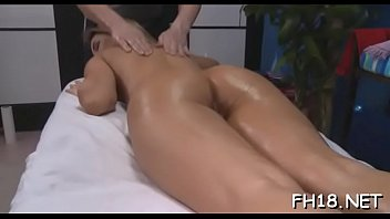 glamorous all natural fucked by massage.