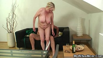 cock-hungry mother in law seduces him