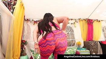 cuban bbw angelina castro &amp_ latina cristi ann.