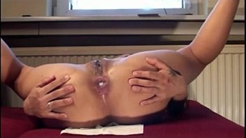 anal creampie with asian