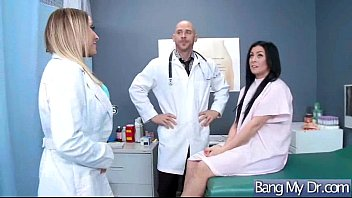 hot patient (payton west) and horny doctor bang.