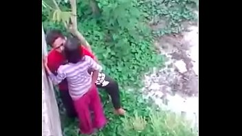 young bengali couple outdoorfucking record by.