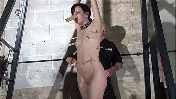 fetish pornstar elise graves in fierce dungeon whipping.