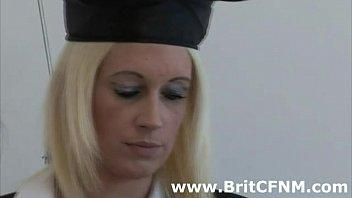 british teacher and naughty schoolgirls punish.