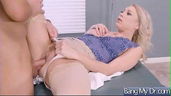 (katie morgan) horny patient and doctor in sex.