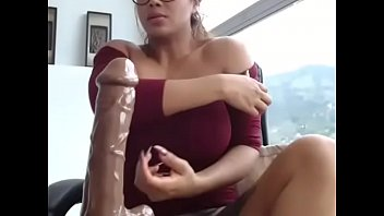 big tits asian babe blowjob on.