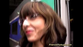 french milf picked up for deep.