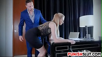 sexy secretary trained to obey kinky boss nasty commands