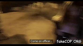 boy dominates fake cop during sex