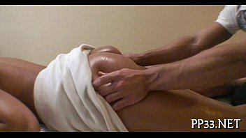 sexy fucking after oil massage