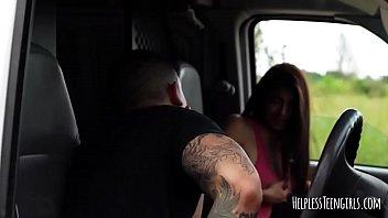 latina michelle martinez fucked in van