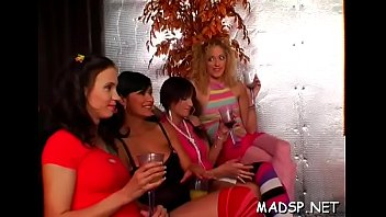 whores with unfathomable throats show their skills at.