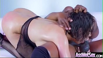 (aleksa nicole) slut big ass girl get oiled.