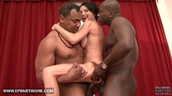 mature rough double fucked likes big black cocks.