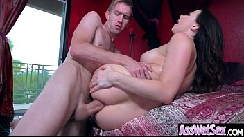 big ass girl (chanel preston) get oiled up.