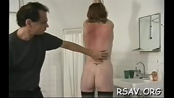 playgirl gets bounded and blindfolded for a bdsm session