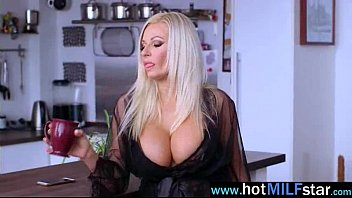 (michelle thorne) gorgeous milf busy riding huge dick.