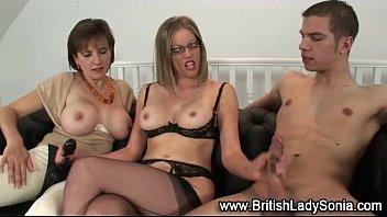 mature british femdom ffm fuck threesome
