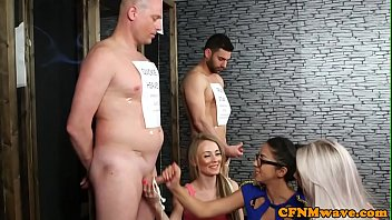 classy euro babes humiliated stripped guy
