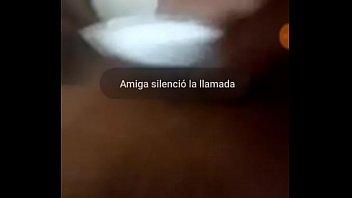 whatsapp llamada con mi amiga