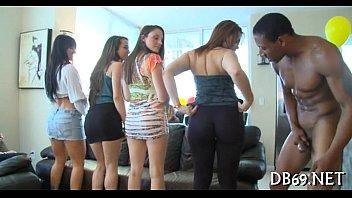 yong girls doing oral-stimulation sex