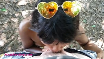 thai teen heather goes atving in paradise and.