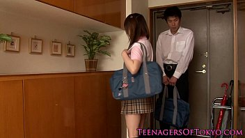 japanese schoolgirl fucking her study partner