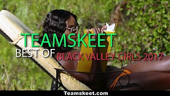 teamskeet - hot ebony teens getting fucked 2017 compilation