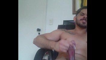 gladiadorweb12 cuming on skype webcam for.