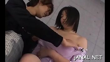 hot asian hotty likes being anal finger fucked.