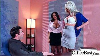 sex scene in office with slut hot busty.