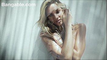 blonde teen super model teens striptease.