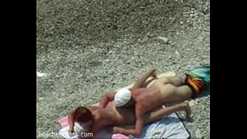 beach cock sucking voyeur video