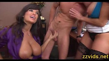 busty milfs lisa ann ava addams awesome office fuck