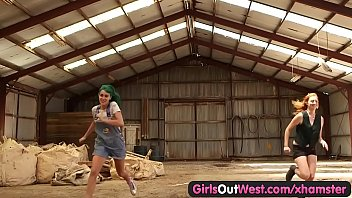 girls out west - hairy lesbian cunts fucked.