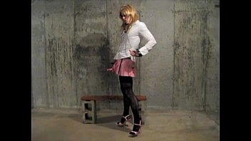 sissy crossdresser desperatetranny cums in a.