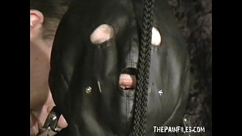extreme mature slave girls hooded breast bondage and.