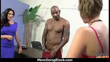 horny milf fucks young black stud.