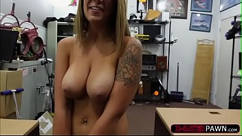 hot layla london gets fucked int he pawnshop.