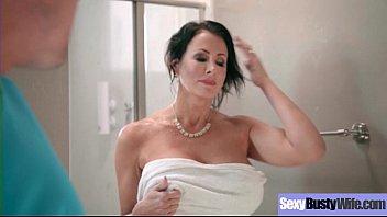 sexy hot wife (reagan foxx) with big juggs.