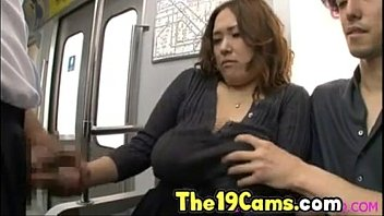 big tits asian fucked on train, free japanese.
